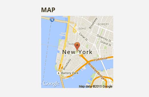 127 ۵ افزونه اضافه کردن نقشه گوگل در وردپرس