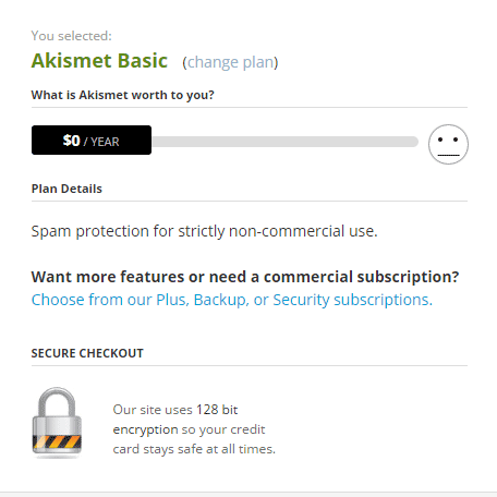 Akismet-Basic