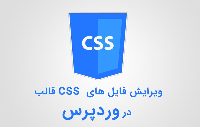 ویرایش فایل های CSS قالب در وردپرس به صورت زنده